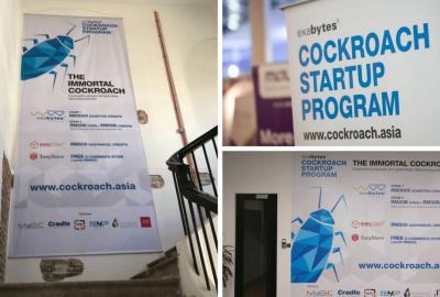 exabytes cockroach startup program